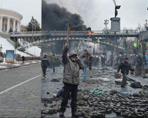 Алея Героїв Небесної Сотні Київ Інститутська