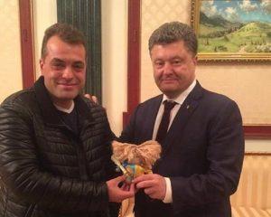 Юрий Бирюков Петр Порошенко