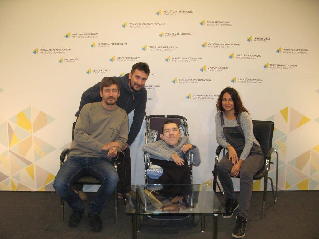 пиар на известном волонтере с ограниченными возможностями Антоне Дубишине