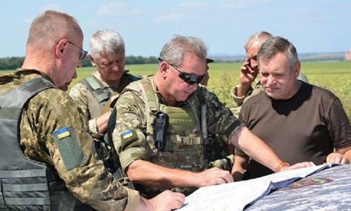 Генерал армии Украины Виктор Муженко Филин батальон Донбасс