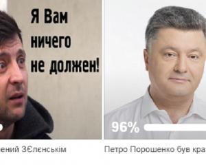 Президент Петро Порошенко соцопитування Володимир Зеленський президент