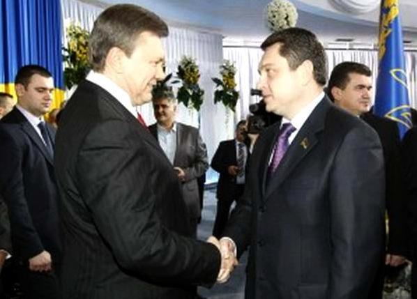 Андрей Пальчевский Виктор Янукович Эдуард Прутник