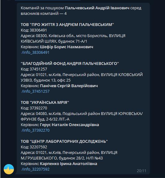 Андрей Пальчевский компания Украинська Мрия