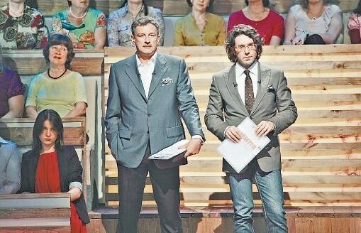 Андрей Пальчевский - телеведущий на 1-м национальном. 2011 год
