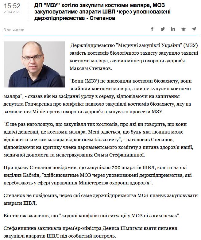МОЗ Соколовський Олександр Текстиль Контакт шахрайство