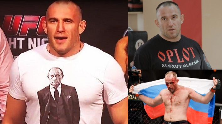 Олексій Олійник ММА UFC Оплот зрадник України